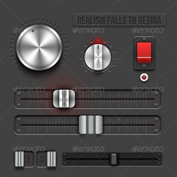 Realism Falls To Retina - Retina Audio Ui