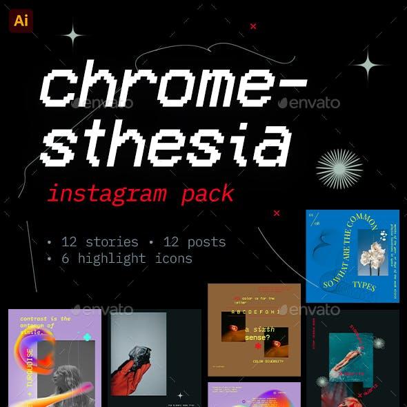 Chromesthesia – Instagram Pack
