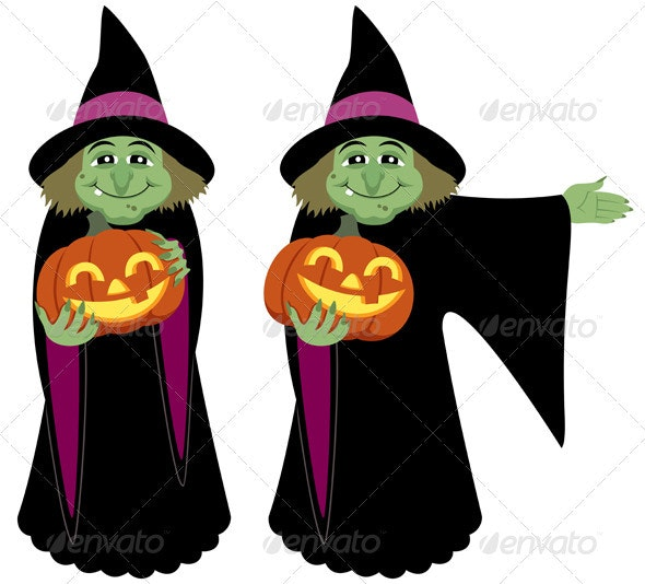Witch - Characters Vectors