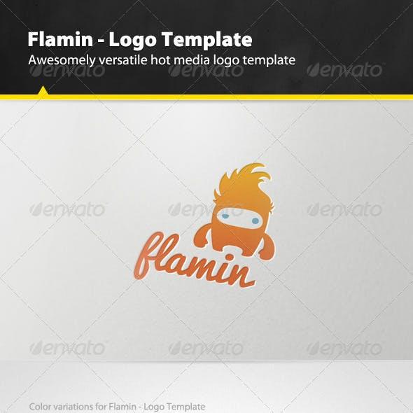 Flamin - Logo Template