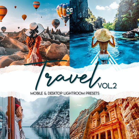 Travel Lightroom Presets Vol. 2 - 15 Premium Lightroom Presets