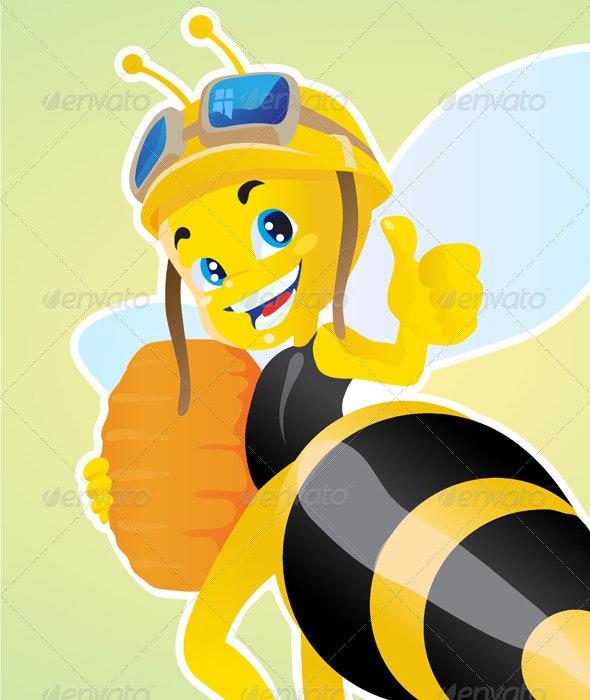 Worker Bee - Animals Characters