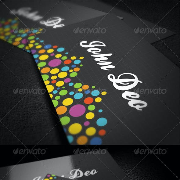 Color Business Card Bundle - 2 Cards