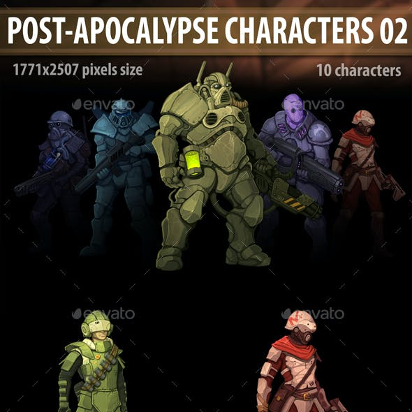 Post Apocalypse Characters 02