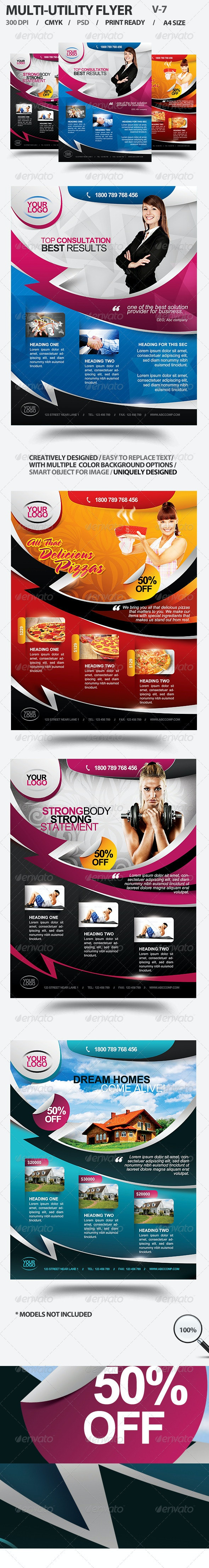 Multi-utility Flyer For Different Business - 7 - Corporate Flyers