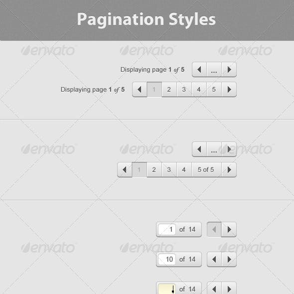 Simple UI Pagination Styles