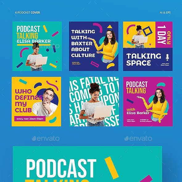 Colorful Podcast Cover