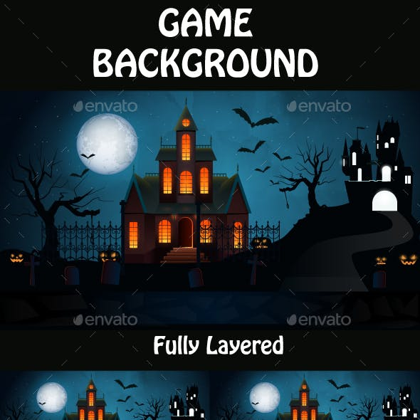 Halloween Game Background 03