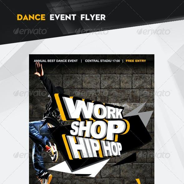 Work Shop Hip Hop Flyer / Poster