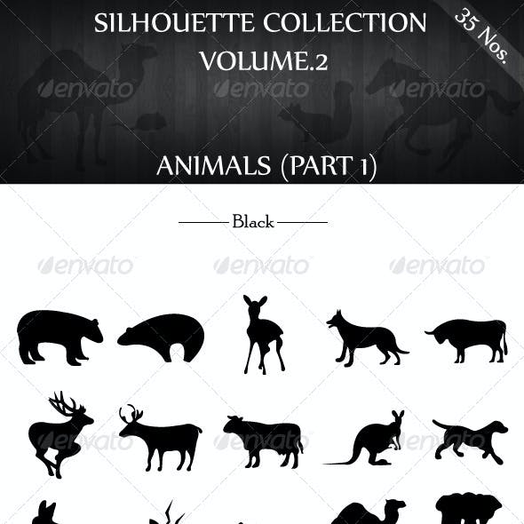Silhouette Collection Vol.2 - Animals(Part 1)