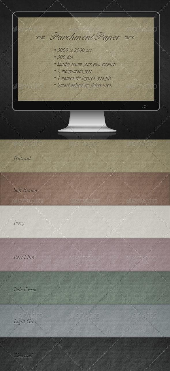 Parchment Paper - Paper Textures
