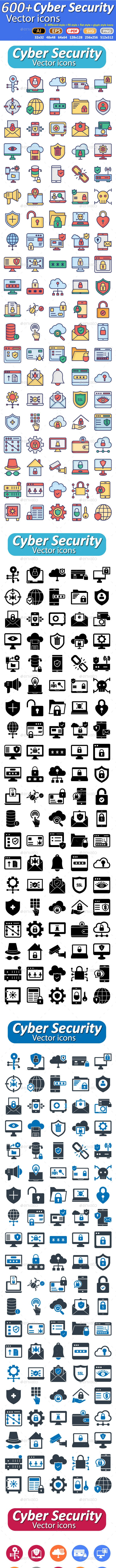 Cyber Security Icons - Icons