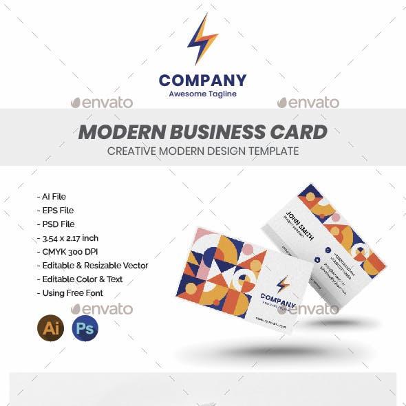 Modern Business Card - Profesional
