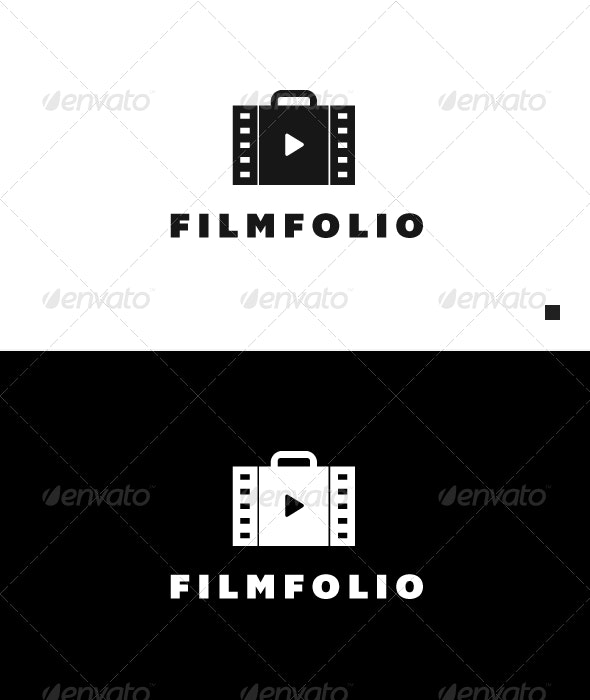 Film Folio - Logo Template - Objects Logo Templates