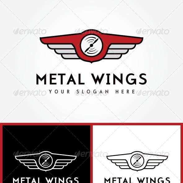 Logo Metal Wings