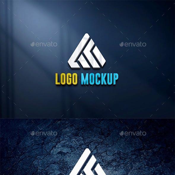 Photorealistic 3D Logo Mock-Ups