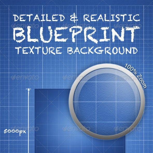 Designers Blueprint Texture - Print Ready