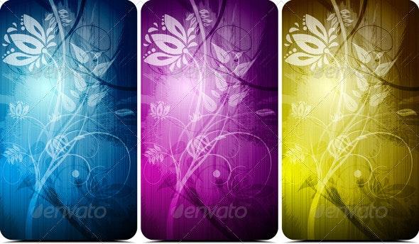 Vector floral design - Flourishes / Swirls Decorative