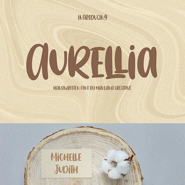 Aurellia Handwritten Font