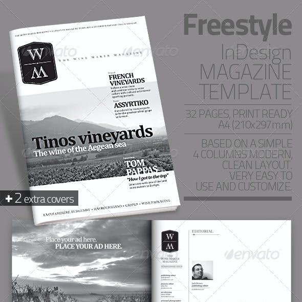 Freestyle | InDesign Magazine Template
