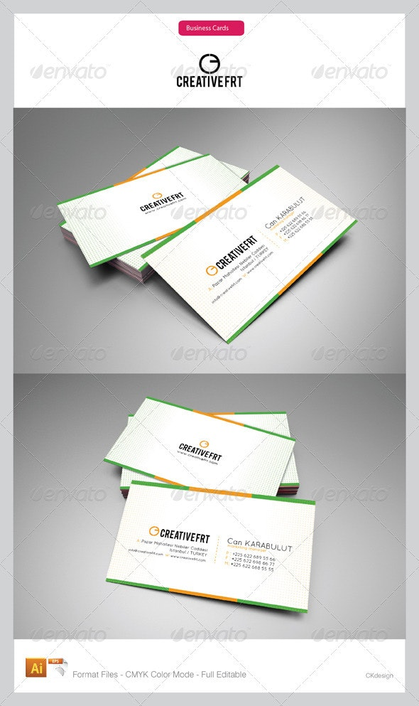 Corporate Business Cards 40 - Creative Business Cards
