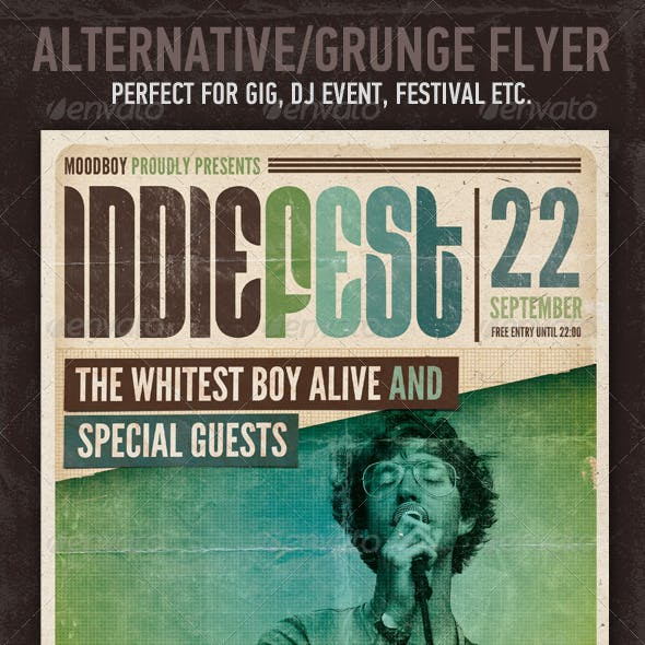 Indie Fest Flyer/Poster