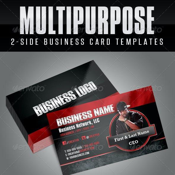 Multipurpose Business Card Templates 1