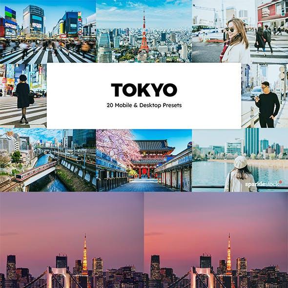 20 Tokyo Lightroom Presets & LUTs