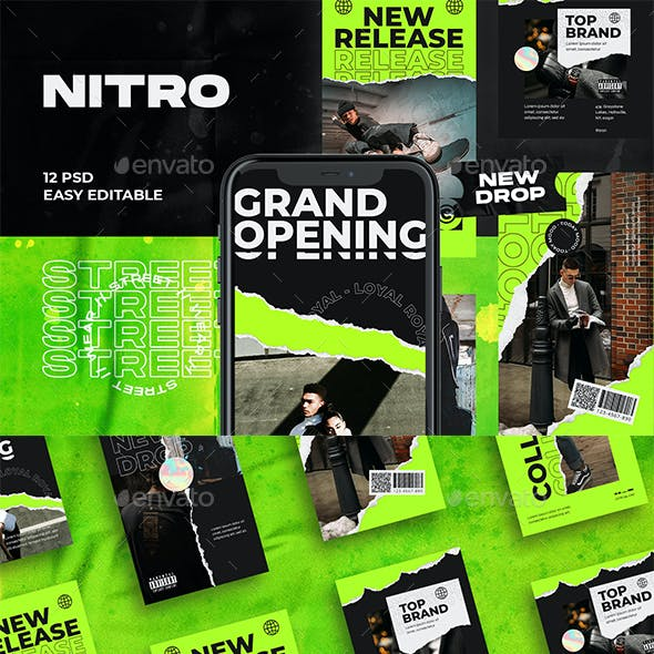 Nitro Fashion Instagram Template