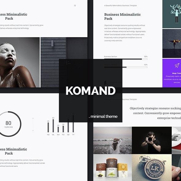 KOMAND - Google Slides Presentation Template (PPTX) - Google Slides Presentation Templates