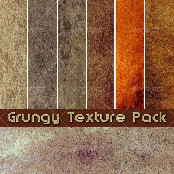 Grungy Texture Pack - Industrial / Grunge Textures