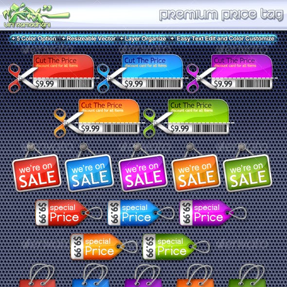 Premium Price Tag