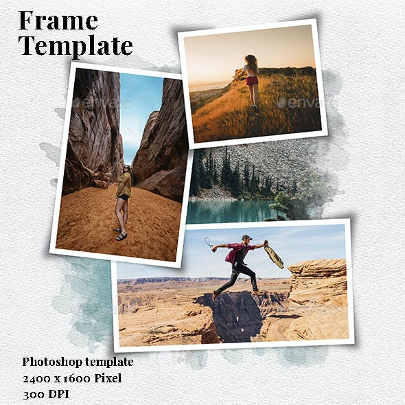 Frame Photo Template