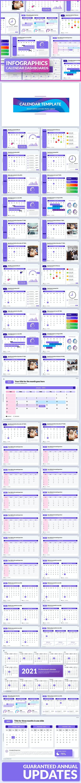 Calendar Based Dashboard Templates - Power Point - Presentation Templates