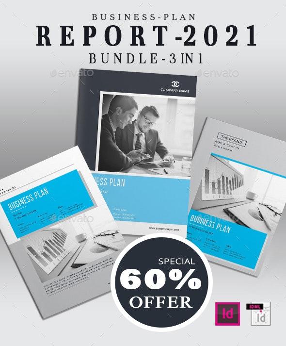 Business Plan Brochure Bundle - Corporate Brochures
