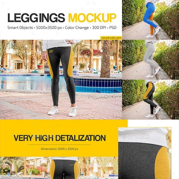 Leggings Mockup Set