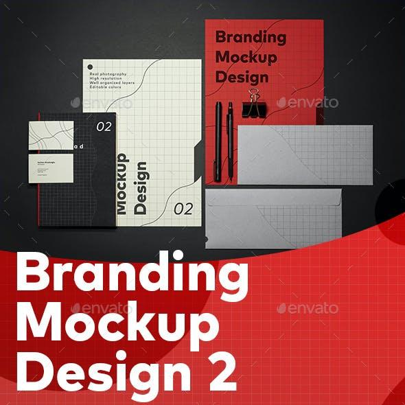 Branding Idendity Mockup 2