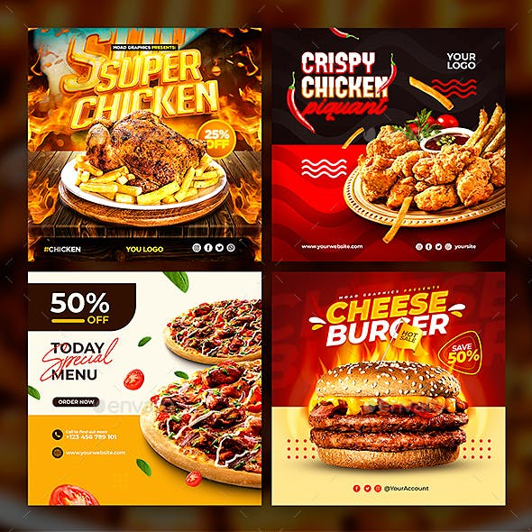 Food & Restaurant Template