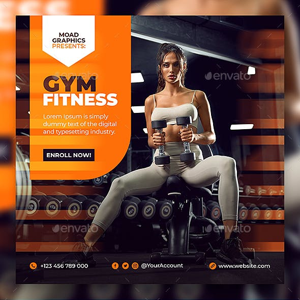 GYM Fitness Template