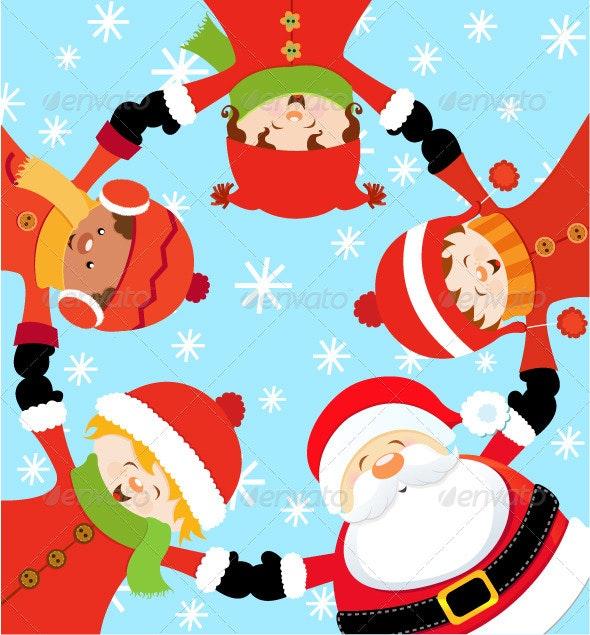 Santa Christmas Party - Christmas Seasons/Holidays