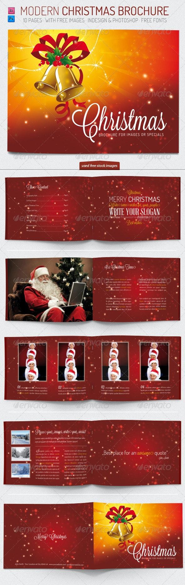 Christmas - Brochure Template - Brochures Print Templates