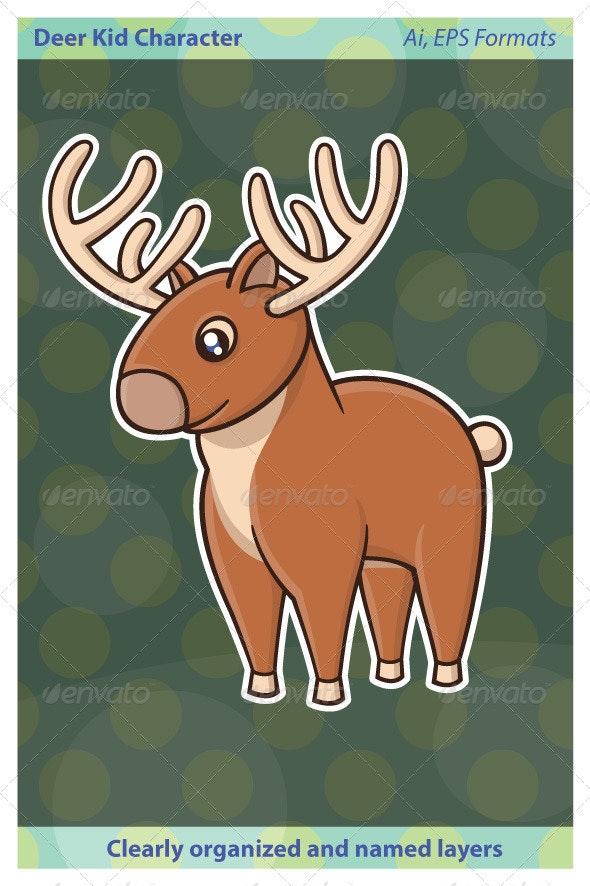 Deer Kid - Animals Characters