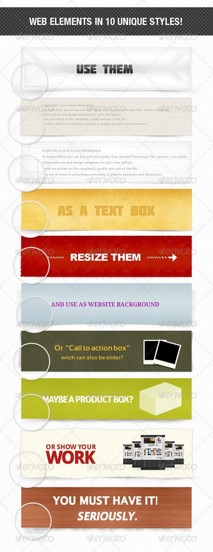 10 Unique Web Elements! - Miscellaneous Social Media
