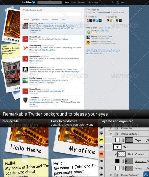 Moonlight Twitter Background - Twitter Social Media