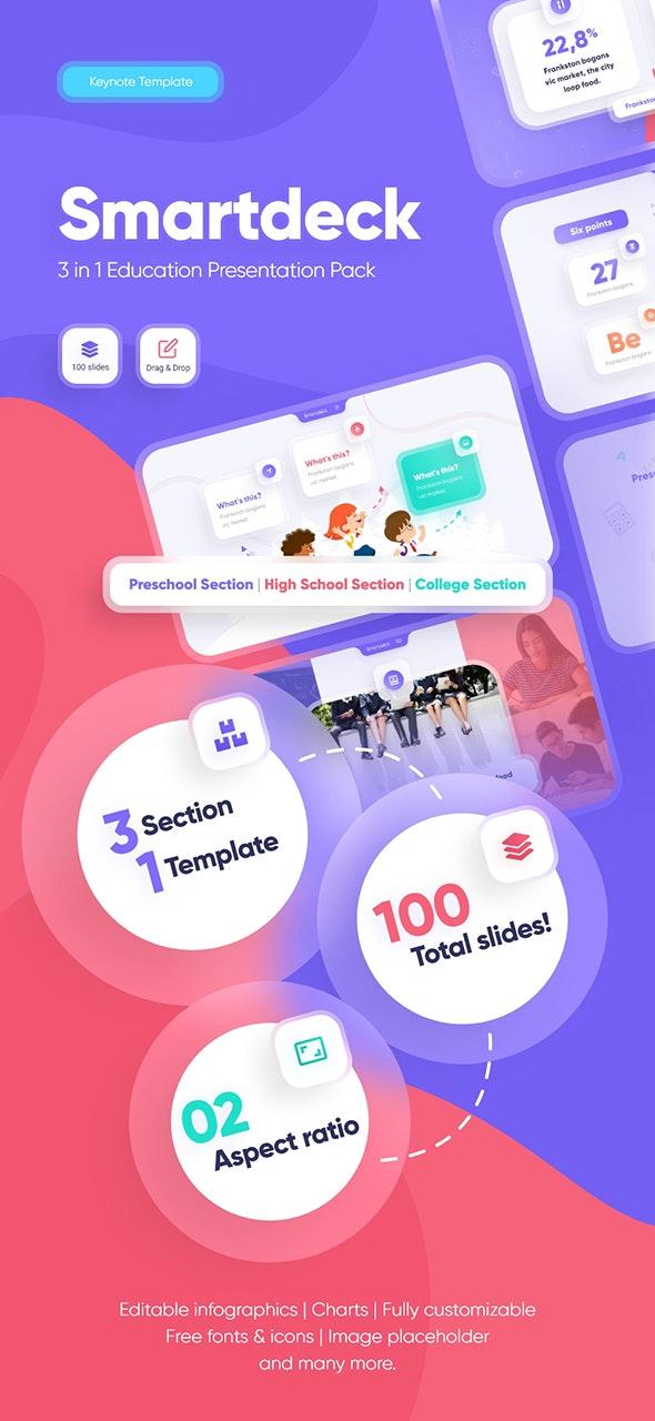 Smartdeck Education Keynote Presentation Template - Keynote Templates Presentation Templates