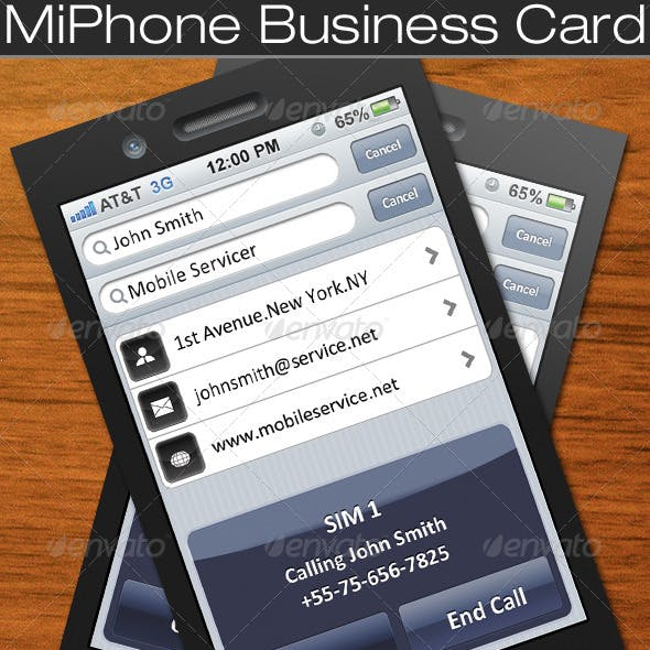 MiPhone Business Card
