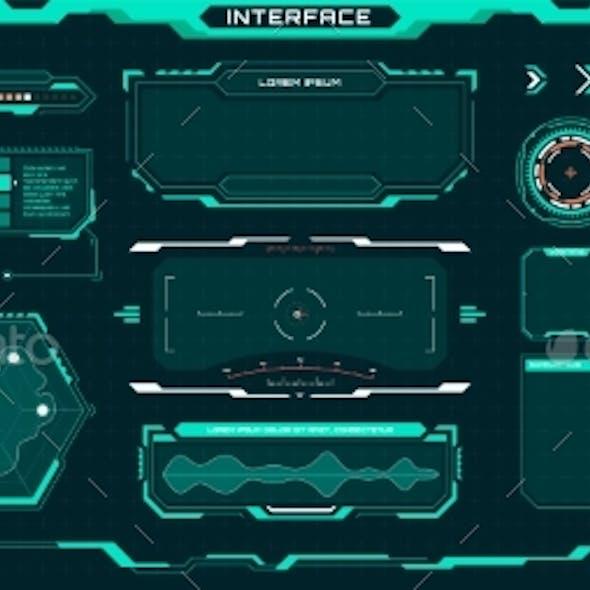 Futuristic Ui Elements