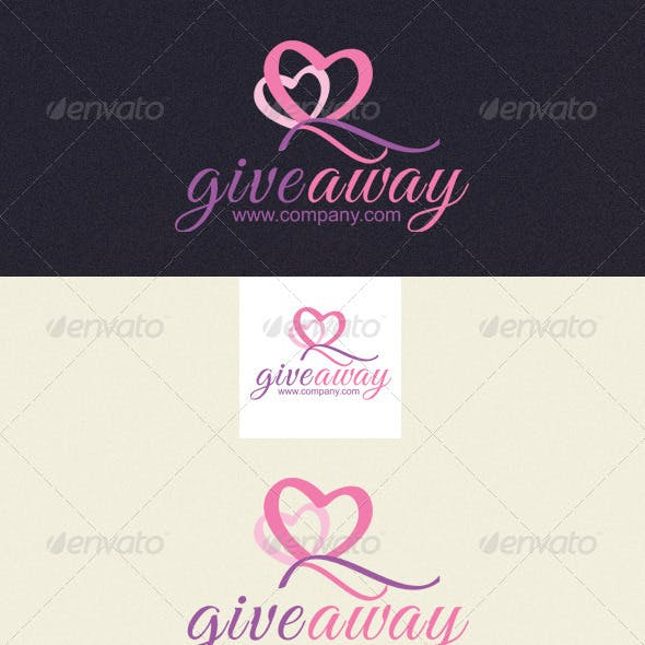 Giveaway Logo Template