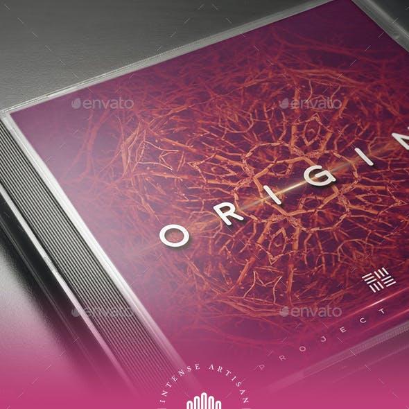 Origin Music - Cd Artwork