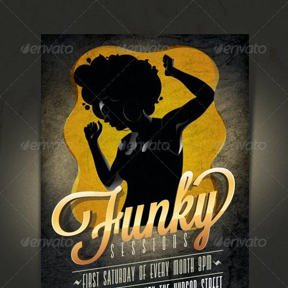 Funky Flyer/Invitation